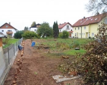 Rosenheim – Zweifamilienhaus: Baugrundstück in Vorbereitung